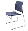 口型腳訪客椅
