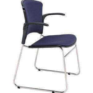 敦煌傢具-EVA-05CA扶手訪客椅