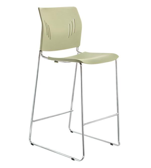 敦煌傢具-ACE-05HC高腳椅-橄欖綠